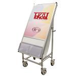 サポートサイン 非常搬送用車椅子タイプ アクリルカバー+カタログケース (SPS-ISU-ACKC)