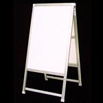 アルミ製額縁A型看板 600×900+足300 CN-11 透明保護板付