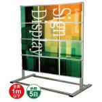 垂直型カードケースメッセージスタンド A4サイズ対応 規格:A4横×12 片面 (CCMS-A4Y12K)