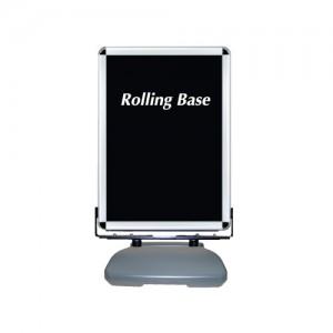 ローリングベース たおれん君 スイング式 防水パック仕様 シルバー サイズ:B1 (RB-PAC-PG44R-B1)