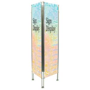 クリエイティブバナーズタワー スリーサイン(3面) H2000 幅:W900mm (BT3F-4519-BP90)